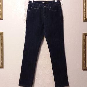 Levi's Mid Rise Skinny Blue Jean